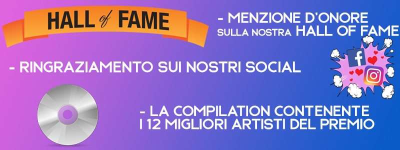 HALL OF FAME + RINGRAZIAMENTO SOCIAL + COMPILATION